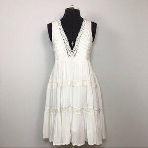American Rag Cie NWOT Women  Boho Crochet Dress XS